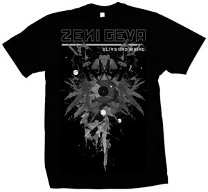 ZENI GEVA - ZENI GEVA - Official T-shirt European Tour 2010