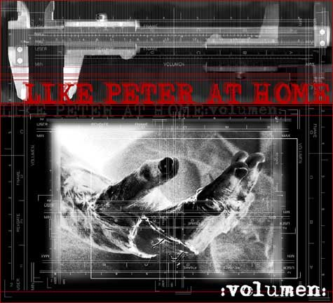 LIKE PETER AT HOME - Volumen - OVERCOME RECORDS - CD four panels Special-Digipack