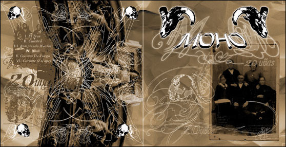 MOHO - 20 Uñas - CD in standard transparent jewel case
