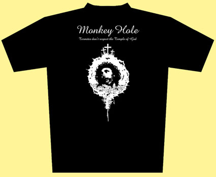 Monkey Hole - T-shirt oficial