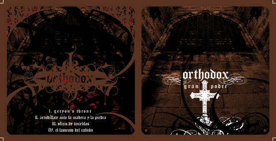 ORTHODOX - Gran Poder - CD in standard transparent jewel case