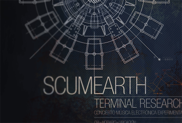 Scumearth - Terminal Research - poster