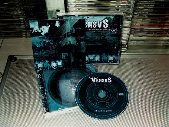 VERSVS - El Mundo en Guerra - CD in standard transparent jewel case
