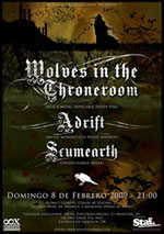Wolves in the Throneroom + Adrift + Scumearth